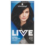 Schwarzkopf Live barva na vlasy Havraní Černá 1.0