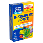 MaxiVita Vaše Zdraví B-komplex forte + vitamin C 30 tablet 22,8g