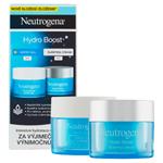 Neutrogena Hydro Boost Hydratační pleťový gel + hydratační noční maska 2 x 50ml