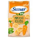 Sunar Bio mrkvová kolečka 45g
