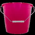 Q-Home Kbelík kulatý 10l - mix barev
