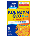 MaxiVita Vaše Zdraví Koenzym Q10 + vitamin C 30 tablet 22,8g