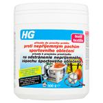 HG Přísada do pracího prášku proti nepříjemným pachům sportovního oblečení 500g