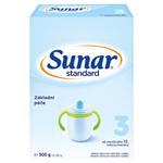 Sunar Standard 3 mléčná výživa pro malé děti v prášku od ukončeného 12. měsíce 2 x 250g (500g)