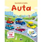 Samolepková knížka Auta