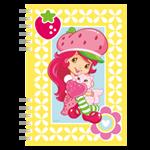 Akim Zápisník A6 s krouž.vazbou-Strawberry 1