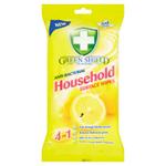 Green Shield Vlhčené ubrousky pro použití v domácnosti 50 ks