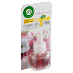 Air Wick Essential Oils Tekutá náplň do elektrického přístroje jemný satén a měsíční lilie 19ml