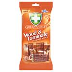 Green Shield Vlhčené ubrousky na dřevo a lamináty 50 ks