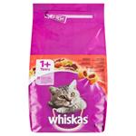 Whiskas Chutné plněné granule s hovězím 1,4kg