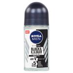 Nivea Men Black & White Invisible Original Kuličkový antiperspirant 50ml