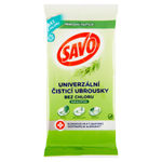 Savo univerzální čisticí ubrousky bez chloru eukalyptus 30 ks