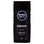 Nivea Men Deep Sprchový gel 250ml