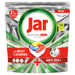 Jar Platinum Plus Kapsle Do Automatické Myčky Nádobí Vše V Jednom Lemon, 56 Ks