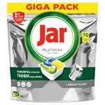 Jar Platinum Kapsle Do Automatické Myčky Nádobí Vše V Jednom Lemon, 70 Ks
