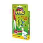 Centropen Foukací fixy Air pens na textil 5 ks