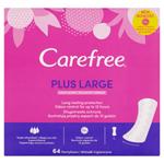 Carefree Plus Large slipové vložky s jemnou vůní 64 ks