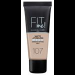 Maybelline Fit Me Matte + Poreless Make-Up 107 Rose Beige