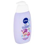 Nivea Kids Dětský sprchový gel a šampon 2 v 1 vůně lesního ovoce 500ml