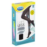 Scholl Light Legs Kompresní punčochové kalhoty Black S 60 DEN