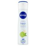 Nivea Fresh Citrus Lime Sprej antiperspirant 150ml