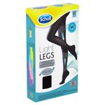 Scholl Light Legs Kompresní punčochové kalhoty Black M 60 DEN