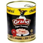GRAND Super Premium kuřecí 850g - DOG