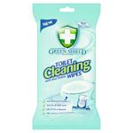Green Shield Vlhčené ubrousky na smaltované a umělohmotné povrchy WC 40 ks