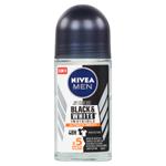Nivea Men Black & White Invisible Ultimate Impact Kuličkový antiperspirant 50ml