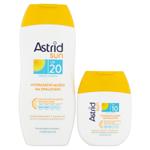 Astrid Sun Hydratační mléko na opalování OF 20 200ml + hydratační mléko na opalování OF 10 80ml