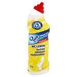 Q-Power čistič WC hustý gel lemon 750g