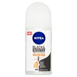 Nivea Black & White Invisible Ultimate Impact Kuličkový antiperspirant 50ml
