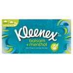 Kleenex Balsam + Menthol papírové kapesníky 3-vrstvé 72 ks