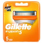 Gillette Fusion5 Holicí Hlavice Pro Muže 5Ks