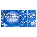 Kleenex Everyday papírové kapesníky 2-vrstvé 8 x 9 ks