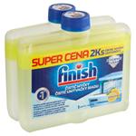 Finish Lemon Sparkle čistič myčky 2 x 250ml