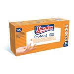 Spontex Protect jednorázové rukavice, 100ks, vel. M