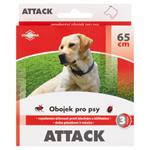 Attack Obojek pro psy hnědý 65 cm