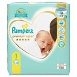 Pampers Premium Care Velikost 1, Plenky 78 ks, 2kg-5kg