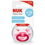 NUK Dudlík HAPPY DAYS, 6-18 m