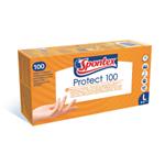 Spontex Protect jednorázové rukavice, 100ks, vel. L
