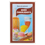 Barva do potravin hněď čokoládová 5g