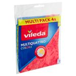 Vileda Multiquattro Colors univerzální hadřík 4 ks