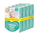 Happy Mimi Flexi Comfort dětské plenky 2 Mini 200 ks - měsíční balení