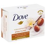 Dove Bambucké máslo a vanilka Krémová tableta na mytí 100g