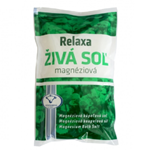 Relaxa Magnéziová živá koupelová sůl 0,5kg