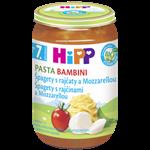 HiPP BIO Rajčata se špagetami a mozzarellou- PASTA BAMBINI 220 g