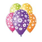 Teddies Balonky květy 12'' průměr 30cm