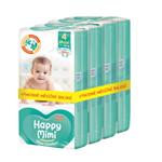 Happy Mimi Flexi Comfort dětské plenky 4 Maxi 152 ks - měsíční balení
