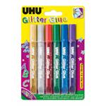 UHU Glitter Glue Original (6ks/bli)